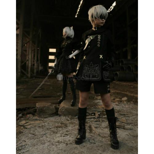 Nier Automata 9S Black Cosplay Costume