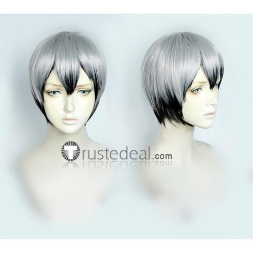 Haikyuu Shinsuke Kita Kotaro Bokuto Black Grey Cosplay Wigs