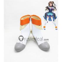 The Idolmaster Cinderella Girls Uzuki Shimamura Cosplay Boots Shoes 3