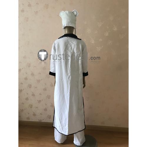 Bleach Arrancar Ggio Vega White Cosplay Costume Ready to Ship