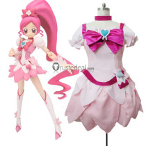 HeartCatch PreCure Cure Blossom Pink Cosplay Costume