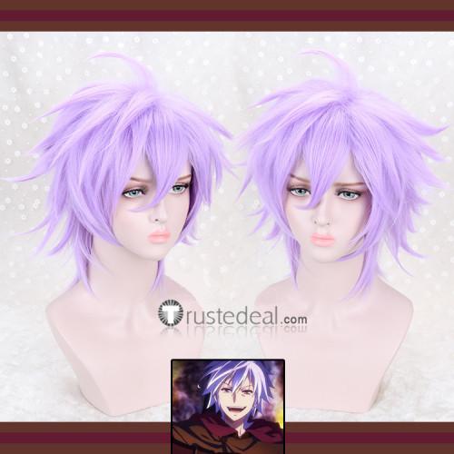No Game No Life Riku Dola Light Purple Cosplay Wig