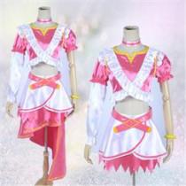 Love Live Rin Hoshizora Red Cosplay Costume