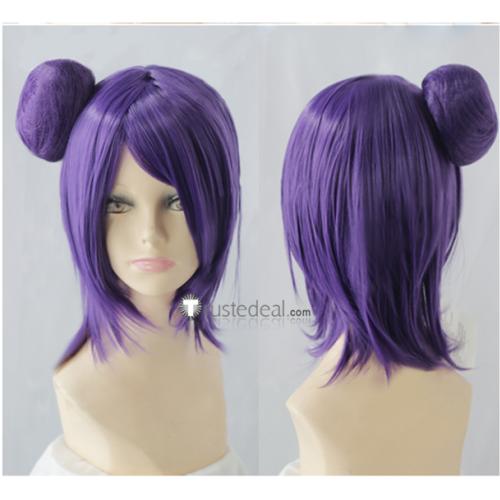 Naruto Akatsuki Konan Purple Cosplay Wig