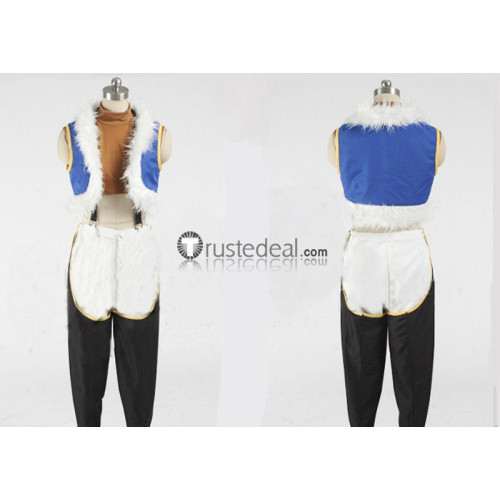 Fairy Tail Sting Eucliffe Blue Black Cosplay Costume