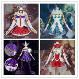 League of Legends LOL Star Guardian Syndra Ahri Miss Fortune Soraka Cosplay Costumes