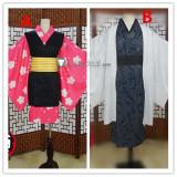 Kimetsu no Yaiba Demon Slayer Makomo Muzan Kimono Cosplay Costumes