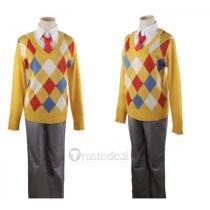 Kyoukai no Kanata Beyond the Boundary Kanbara Akihito Sweater Cosplay Costume