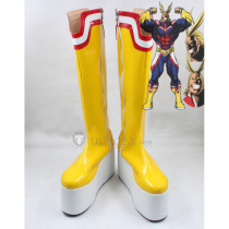 My Hero Academia All Might Cosplay Shoes Boots