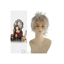 Hack Haseo Silver White Styled Cosplay Wig