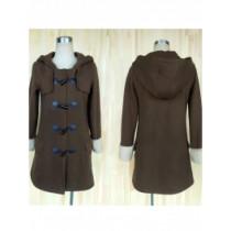 No.6 Shion Brown Coat Cosplay Custume