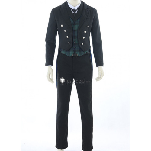 Black Butler Black Label Pop Up Store Ciel Sebastian Cosplay Costumes