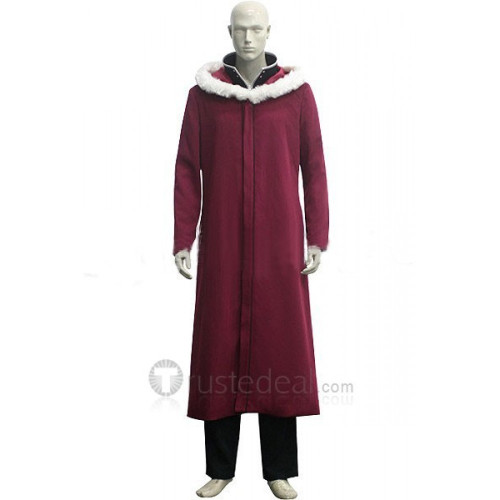 Full Metal Alchemist Edward Elric Winter Cosplay Costume
