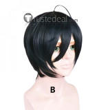 Danganronpa V3 Killing Harmony Shuichi Saihara Dark Cosplay Wigs