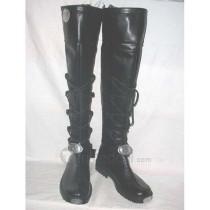 Axis powers Hetalia Germany Genderbend Female Cosplay Black Boots Shoes