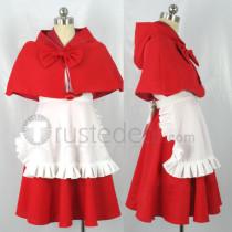 Darkstalkers BB Hood Baby Bonnie Hood Red Cosplay Costume