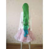 League of Legends Lulu and Poppy Star Guardian Long Green Blue Cosplay Wig 120cm and Ears