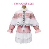 Miss Kobayashis Dragon Maid Kanna Kamui Pink Cosplay Costume Version2