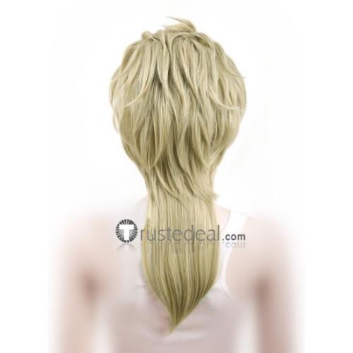 Jojo's Bizarre Adventure 3 Dio Brando Light Blonde Cosplay Wig