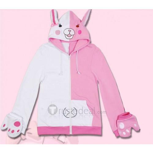Super Danganronpa 2 Goodbye Despair Academy Usami Monomi Cosplay Pink Hoodie Jacket