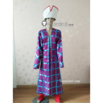 Monkey Island Stan S. Stanman Salesman Purple Cosplay Costume