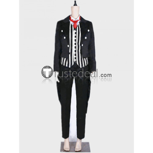Persona 5 Dancing Star Night Butler Ren Amamiya Black Cosplay Costume