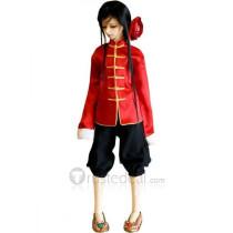Hetalia: Axis Powers China Wang Yao Cosplay Costume
