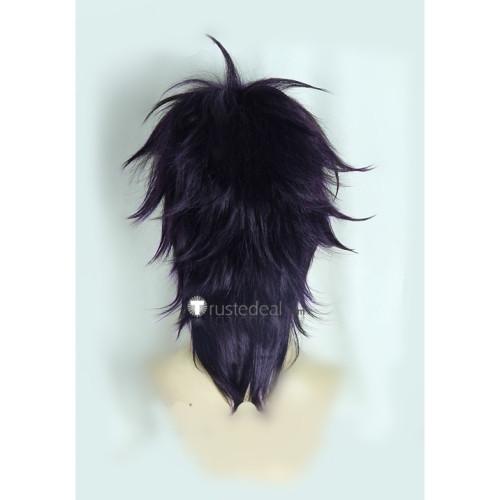 Jojo's Bizarre Adventure Pannacotta Fugo Narancia Ghirga Blond Purple Cosplay Wigs
