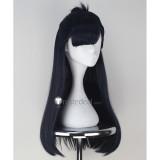 Seraph of the End Owari no Serafu Shigure Yukimi Black Dark Blue Cosplay Wig