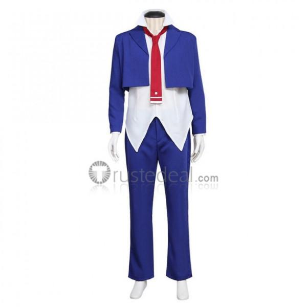 Armed Girl's Machiavellism Nomura fudou Blue Uniform Cosplay Costume