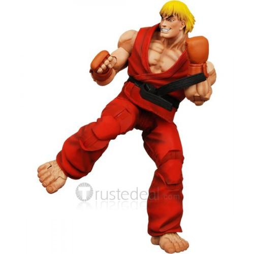 Street Fighter KEN Red Cosplay Costume