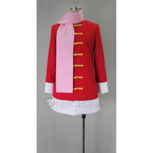 Gintama Kagura Red Cosplay Costume