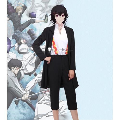 Tokyo Ghoul: Re Juuzou Suzuya Rei Black Suit Cosplay Costume