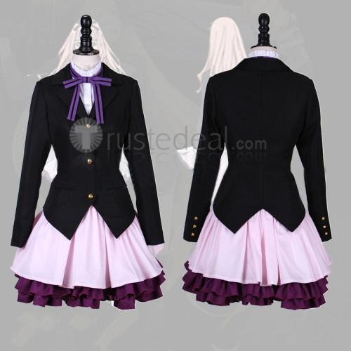Noragami Aragoto Aiha Black Cosplay Costume