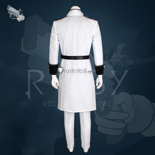 RWBY Volume 4 General James Ironwood White Cosplay Costume