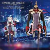 Sword Art Online The Movie Ordinal Scale Singer Yuna Cosplay Costume