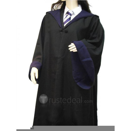 Harry Potter Ravenclaw Cosplay Necktie and Shirt and Overcoat Set