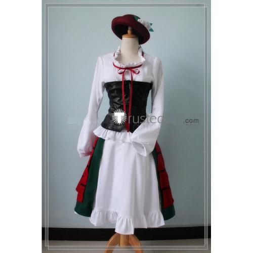 Code Geass C.C Cosplay Costume
