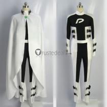 Danny Phantom Hero Black White Suit Cosplay Costume