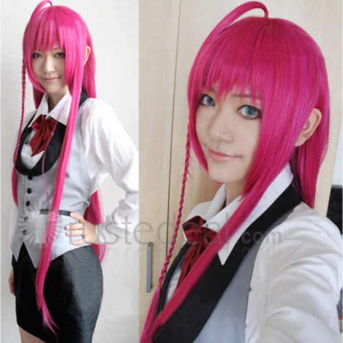 The Devil Is A Part Timer Emi Yusa Emilia Justina Pink Red Cosplay Wigs