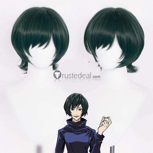Jujutsu Kaisen Sorcery Fight Mai Zenin Nobara Kugisaki Junpei Yoshino Green Brown Cosplay Wigs