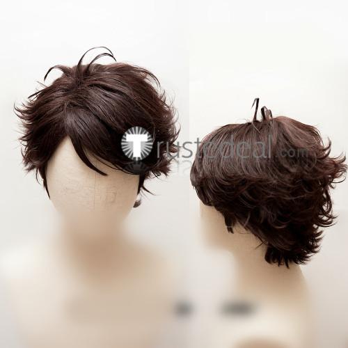 Haikyuu Aoba Jousai High School Tooru Oikawa Brown Styled Cosplay Wig