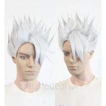 Fairy Tail Lyon Vastia White Styled Cosplay Wig