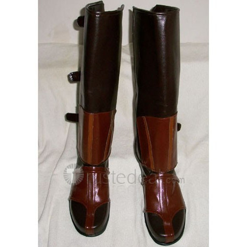 Assassin's Creed Ezio Brown Cosplay Boots Shoes