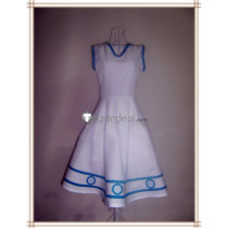 Squid Girl The Invader Comes From the Bottom of the Sea! Ika Musume White Dress Cosplay Costume