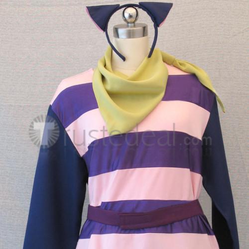 Ouran High School Host Club Kaoru and Hikaru Hitachiin Wonderland Cheshire Cat Cosplay Costume