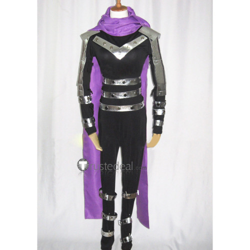 One Punch Man Speed of Sound Sonic Black Jumpsuit Cosplay Costume