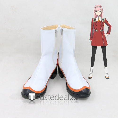Darling in the Franxx Zero Two Code 002 Cosplay Shoes Boots