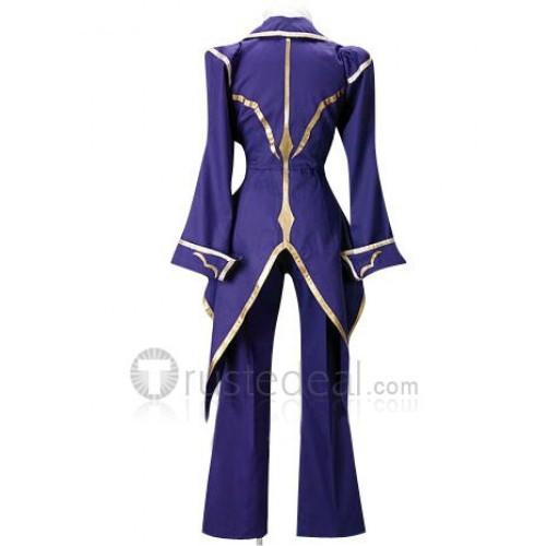 Code Geass Lelouch of the Rebellion Zero Cosplay Costume