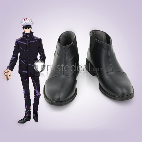 Jujutsu Kaisen Sorcery Fight Satoru Gojo Mahito Kasumi Miwa Cosplay Shoes Boots